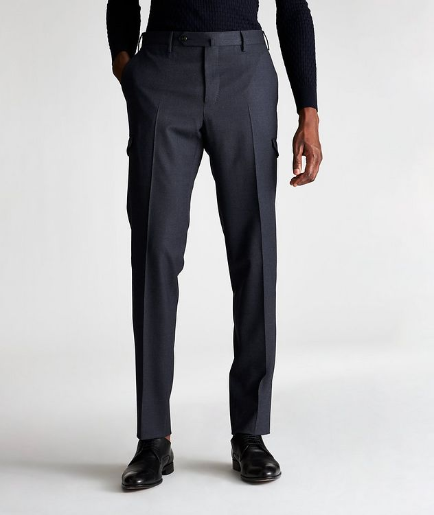 Travel Stretch-Wool Cargo Pants picture 1