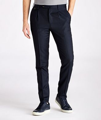 PT01 Slim Fit Washable Wool Pants