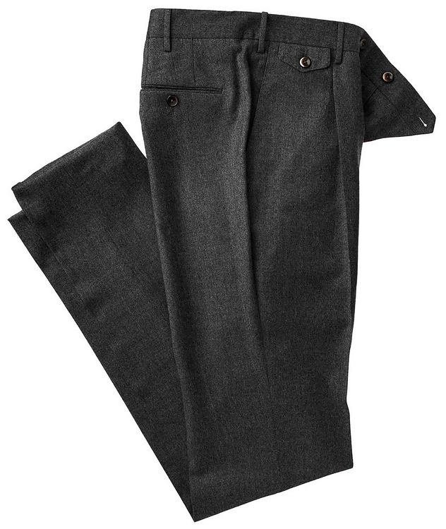 Slim Fit Wool Pants picture 1