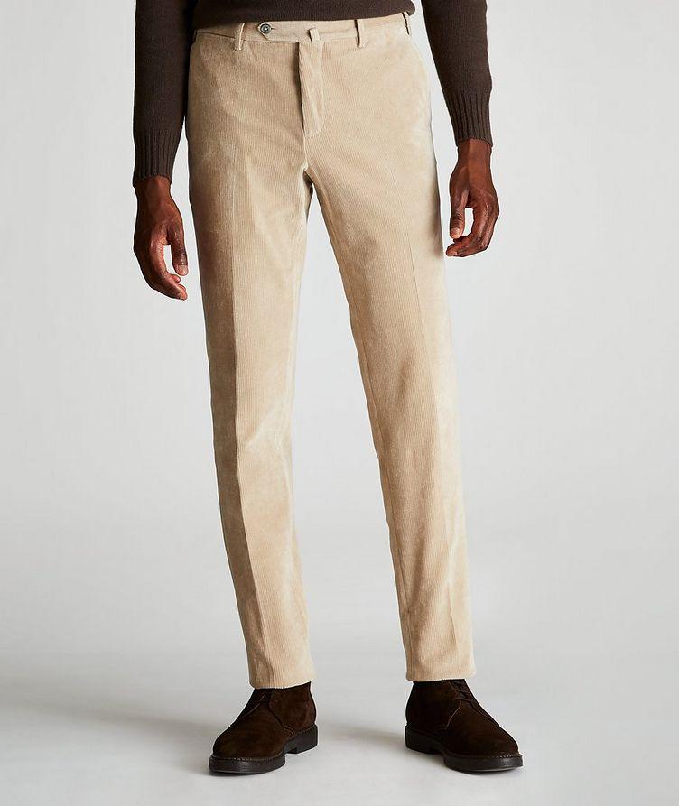 Travel Slim-Fit Corduroy Pants image 0