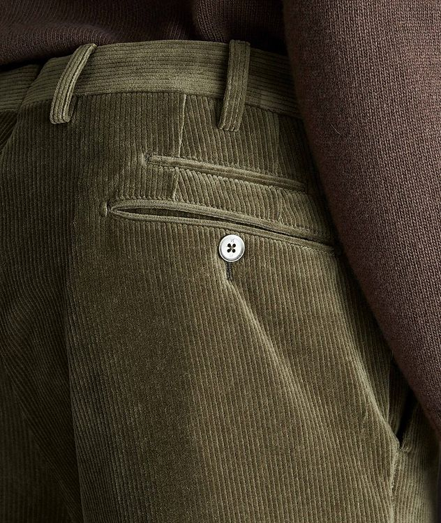 Travel Slim-Fit Corduroy Pants picture 3