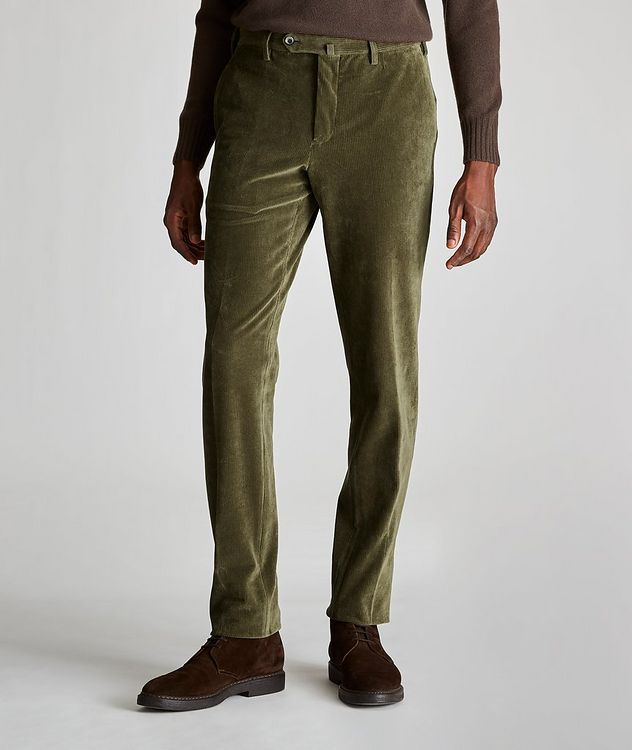 Travel Slim-Fit Corduroy Pants picture 1