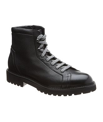 Doucal's for Harry Rosen Leather Hiking Boots