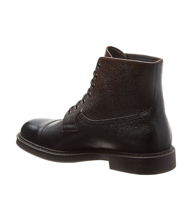 Leather Cap-Toe Boots image 1