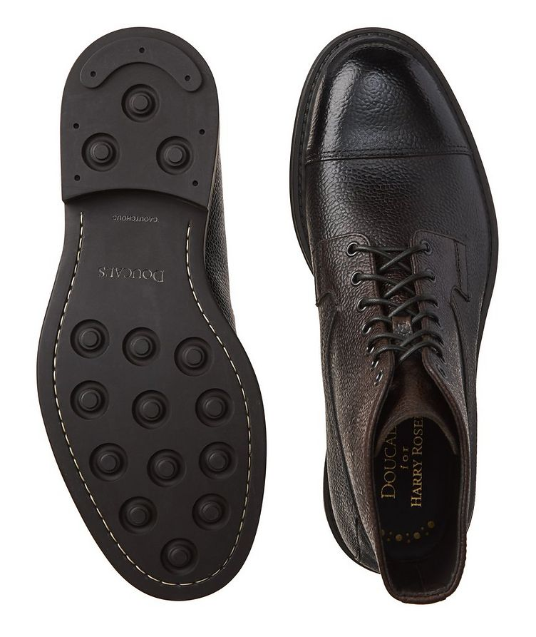 Leather Cap-Toe Boots image 2