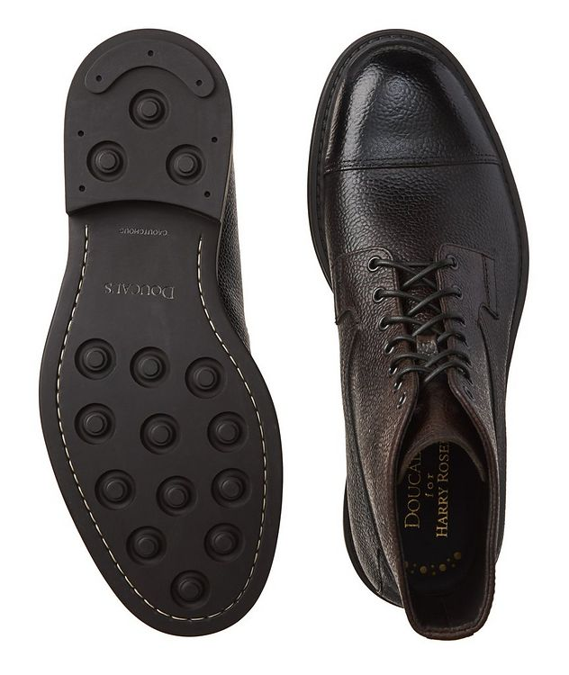 Leather Cap-Toe Boots picture 3