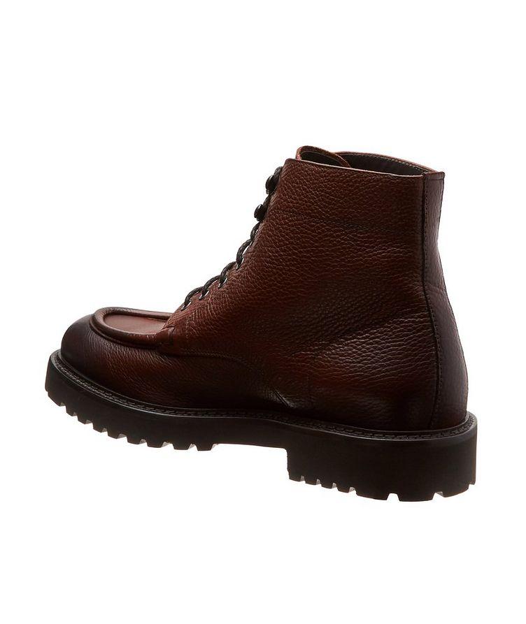 Leather Apron Toe Boots image 1