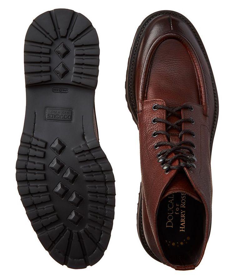 Leather Apron Toe Boots image 2