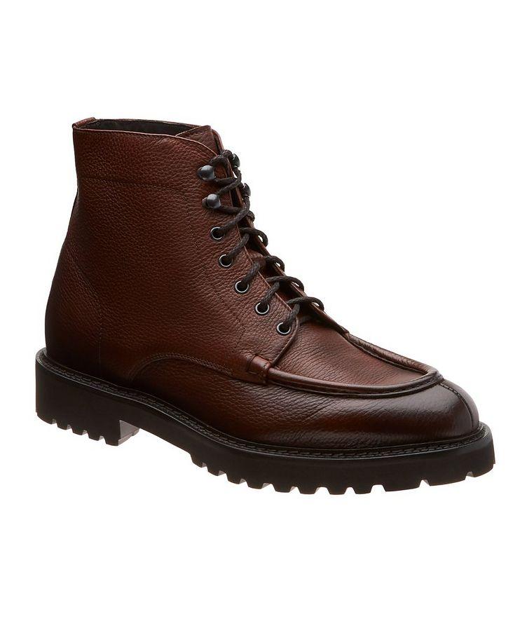 Leather Apron Toe Boots image 0