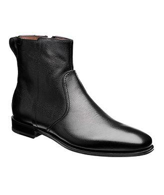 Salvatore Ferragamo Spider Textured Ankle Boots