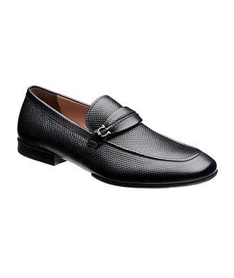 Salvatore Ferragamo Raion Gancini Deerskin Loafers