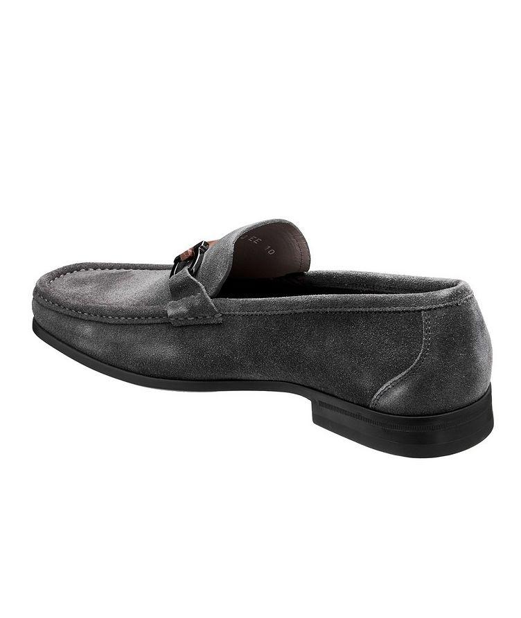 Grandioso Gancini Suede Loafers image 1