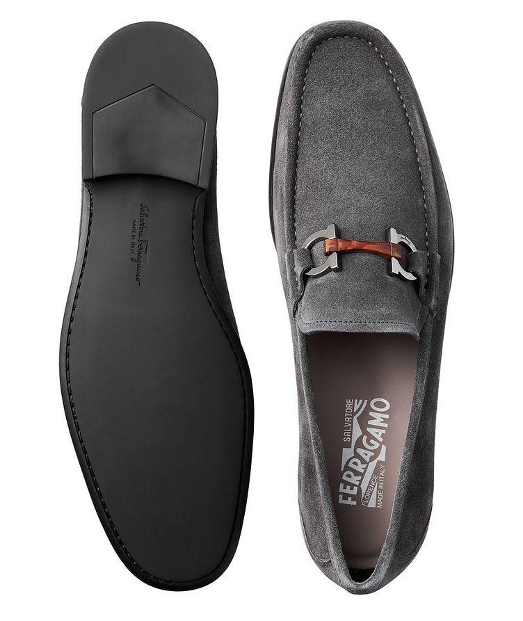 Grandioso Gancini Suede Loafers image 2