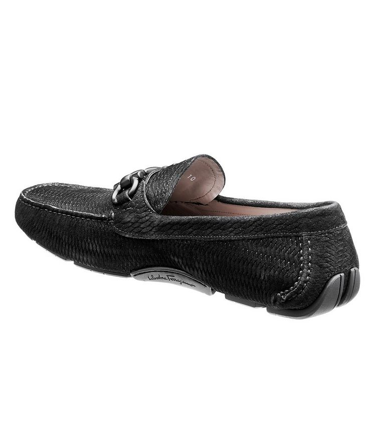 Parigi Gancini Suede Driving Shoes image 1