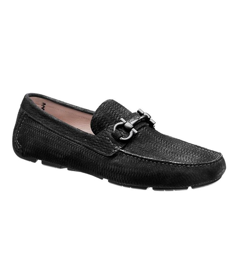 Parigi Gancini Suede Driving Shoes image 0