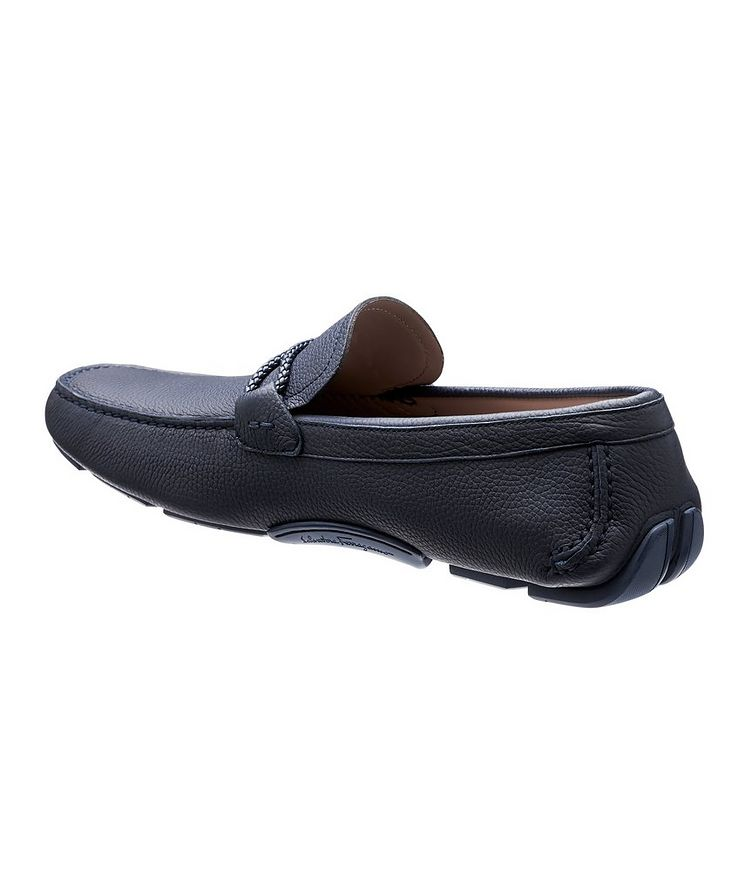 Leather Gancini Bit Driving Shoes image 1