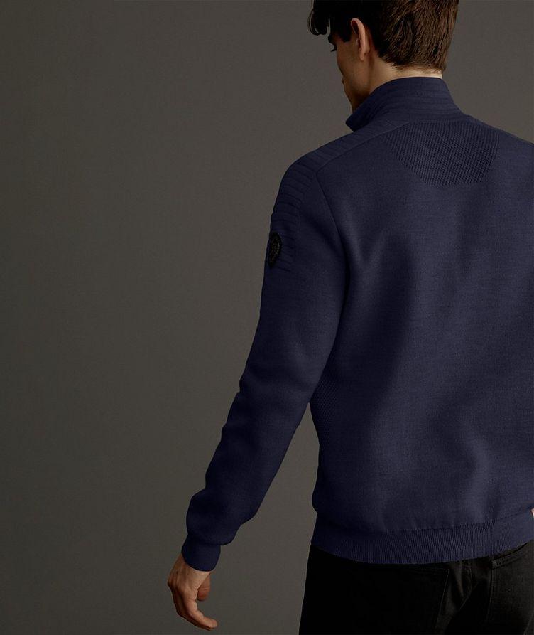 Clarke Half-Zip Wool-Blend Sweater image 2