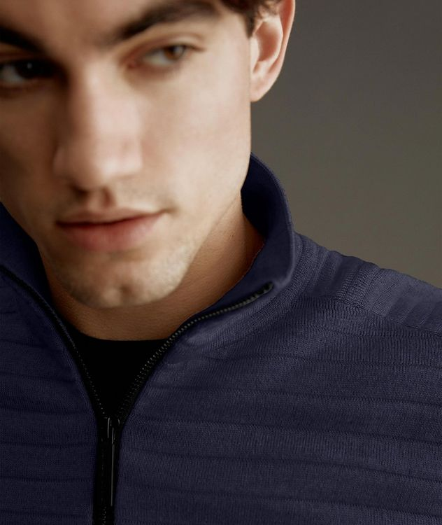 Clarke Half-Zip Wool-Blend Sweater picture 6