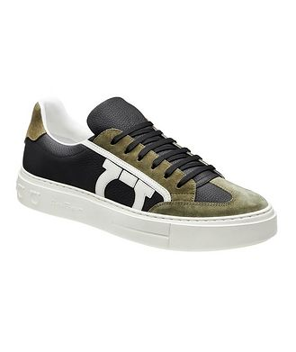 Salvatore Ferragamo Borg 17 Gancini Sneakers