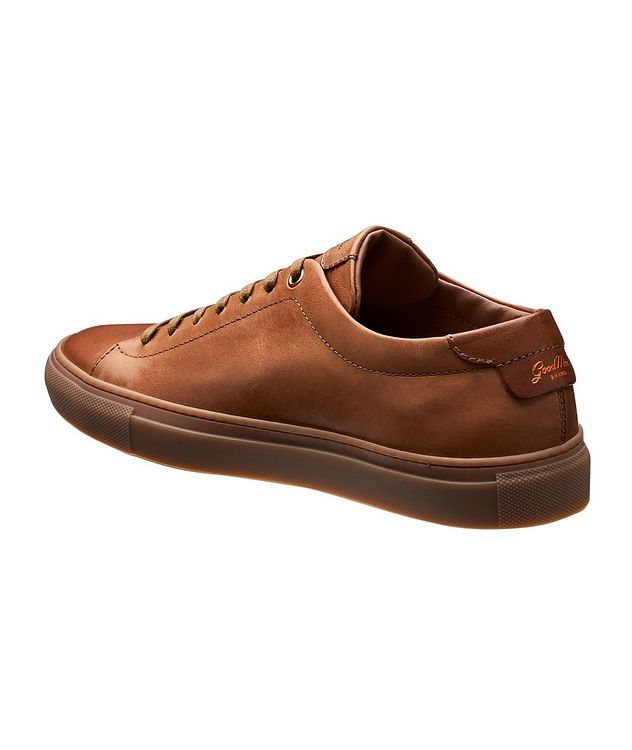 Edge Leather Sneakers picture 2