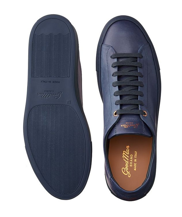 Edge Leather Sneakers picture 3