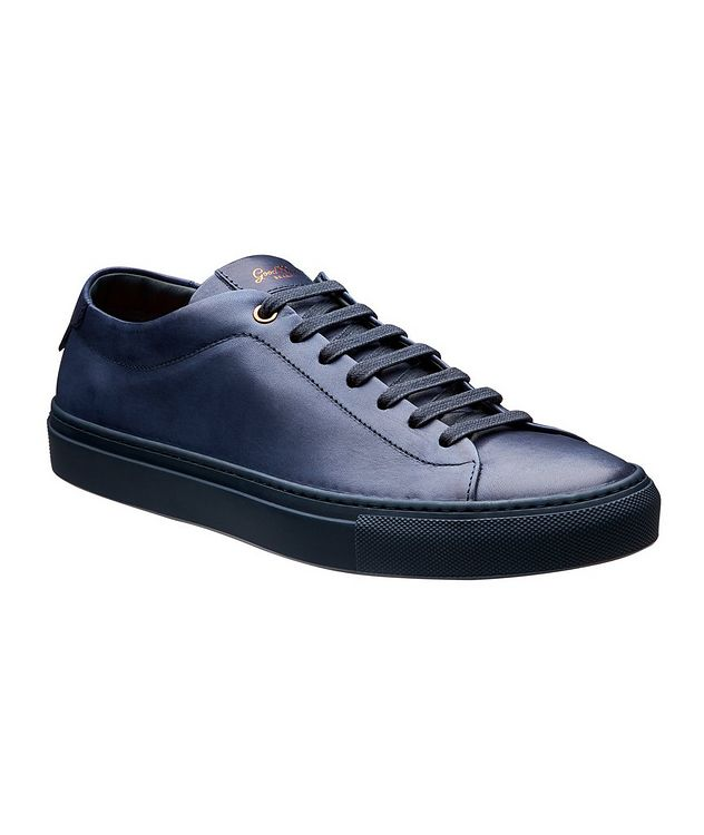Edge Leather Sneakers picture 1