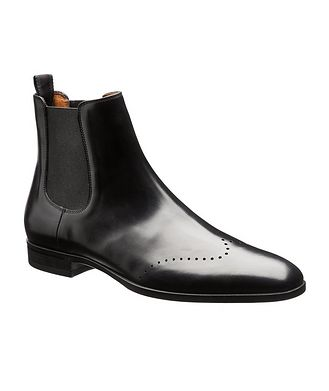 BOSS Leather Chelsea Boots