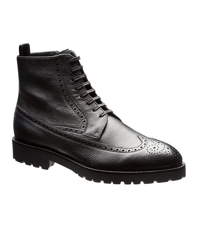 Leather Wingtip Boots picture 1