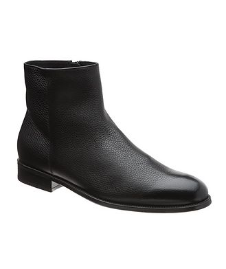Doucal's for Harry Rosen Leather Chelsea Boots