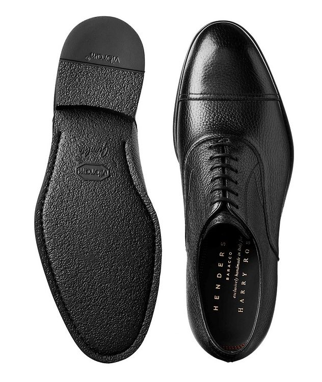 Deerskin Cap-Toe Derbies picture 3