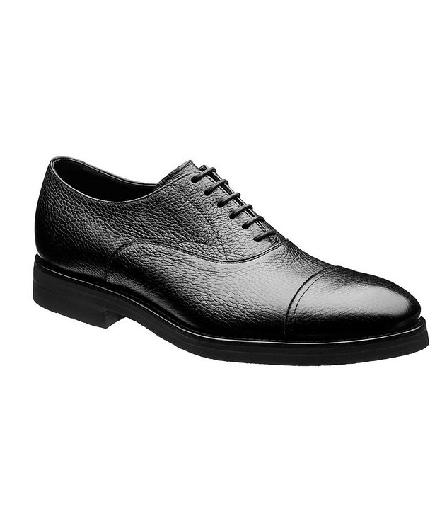 Deerskin Cap-Toe Derbies picture 1