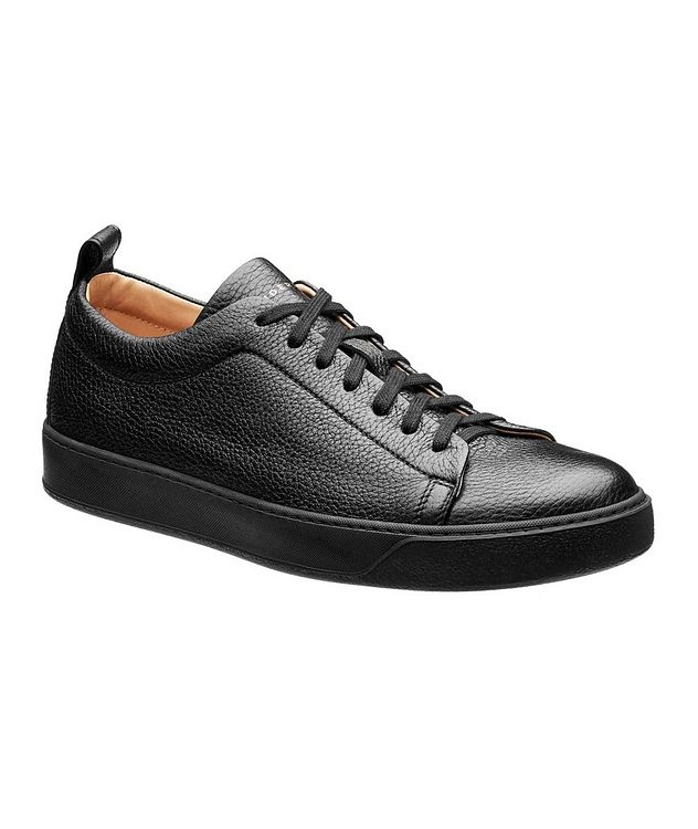 Deerskin Low-Top Sneakers picture 1