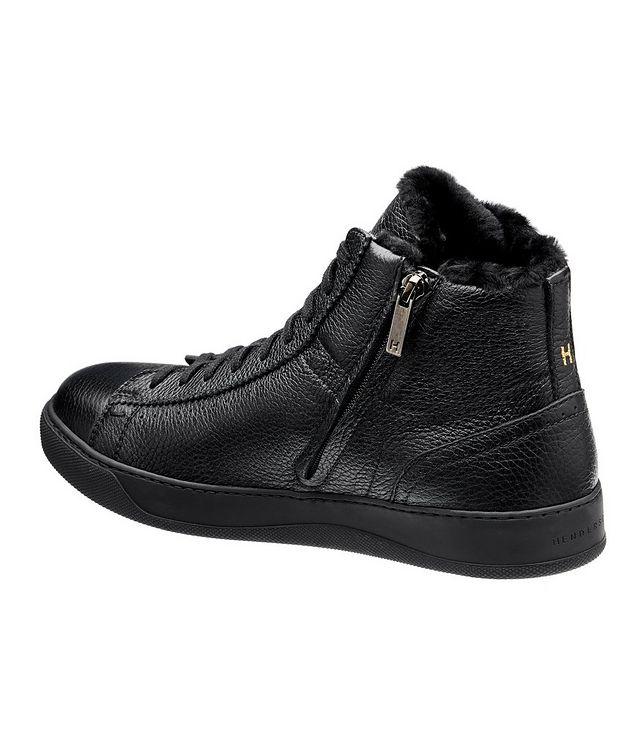 Collin High-Top Deerskin Sneakers picture 2
