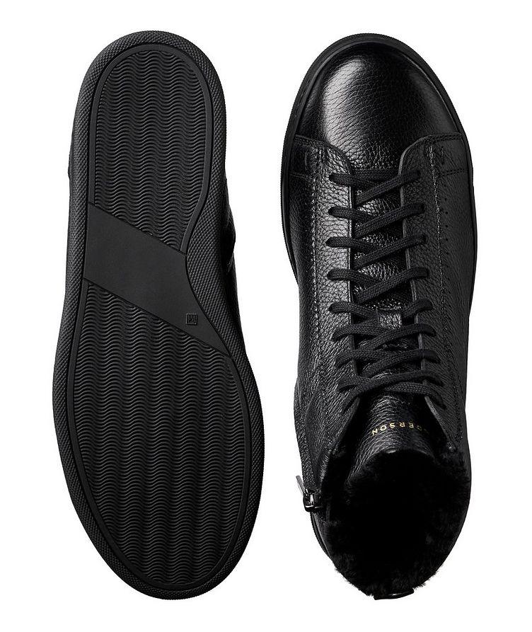 Collin High-Top Deerskin Sneakers image 2