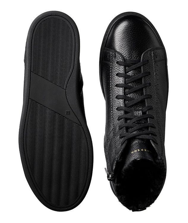 Collin High-Top Deerskin Sneakers picture 3