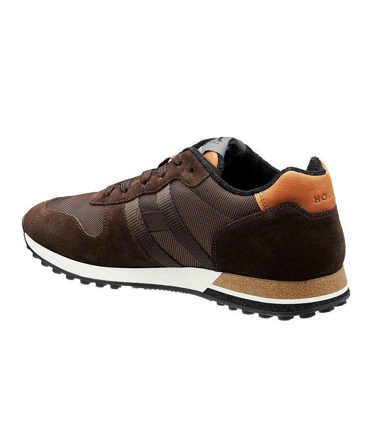 Suede & Mesh Sneakers image 1