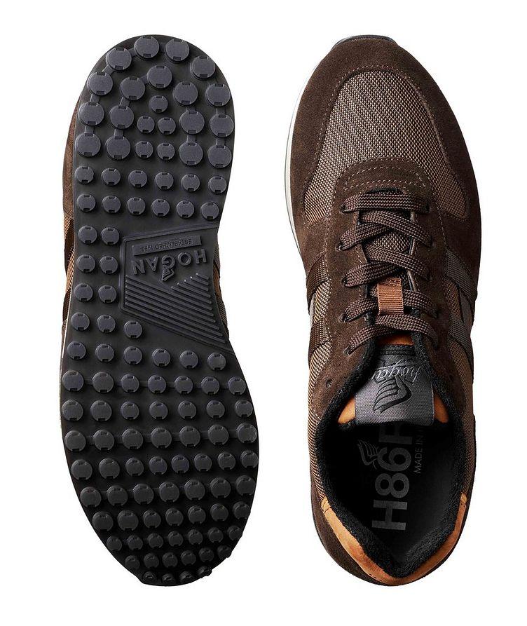 Suede & Mesh Sneakers image 2