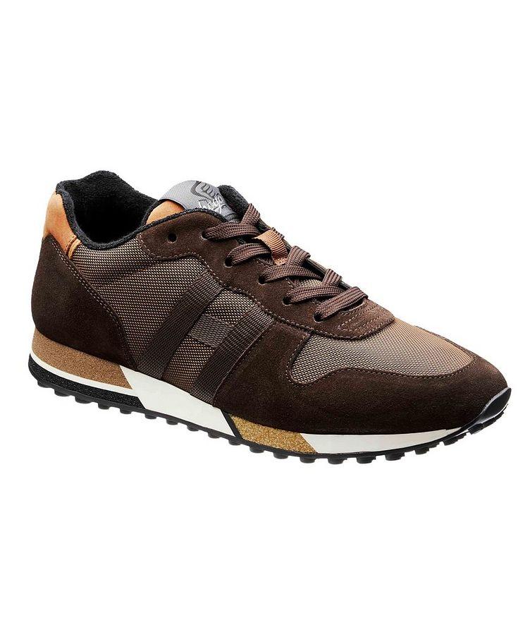 Suede & Mesh Sneakers image 0