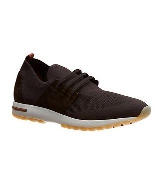 Loro Piana 360 LP Flexy Walk Wish Wool Knit Sneakers