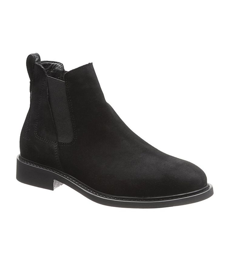 Sandro Suede Chelsea Boots image 0