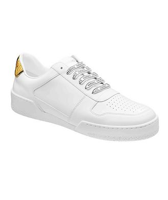 Versace First Line Ilus Leather Sneakers
