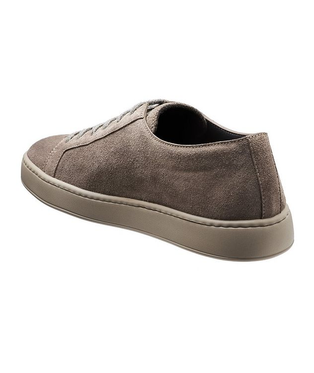 Suede Low-Top Sneakers picture 2
