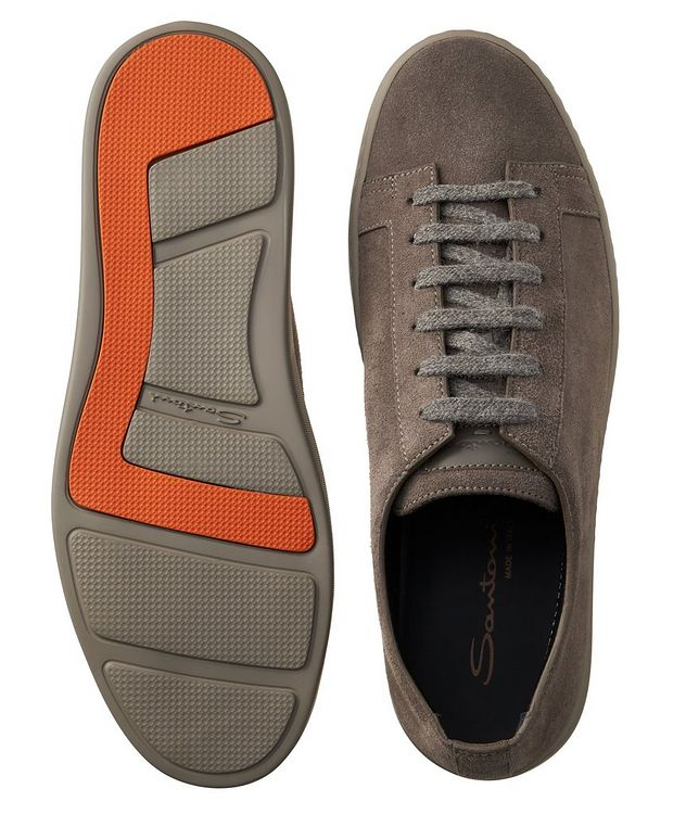 Suede Low-Top Sneakers picture 3