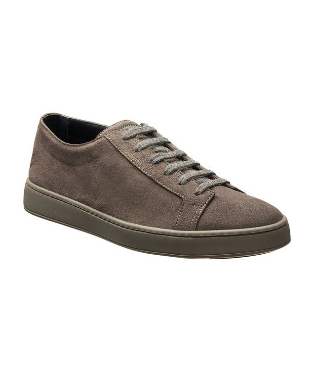 Suede Low-Top Sneakers picture 1