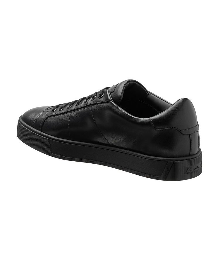 Leather Low-Top Sneakers image 1