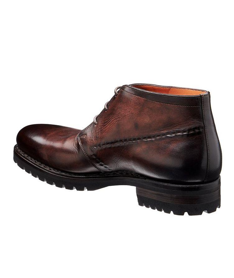 Leather Chukka Boots image 1