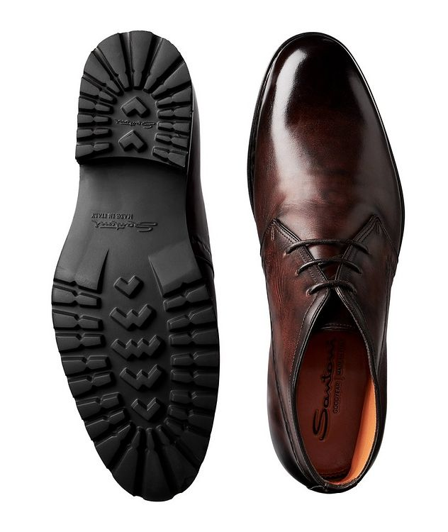 Leather Chukka Boots picture 3