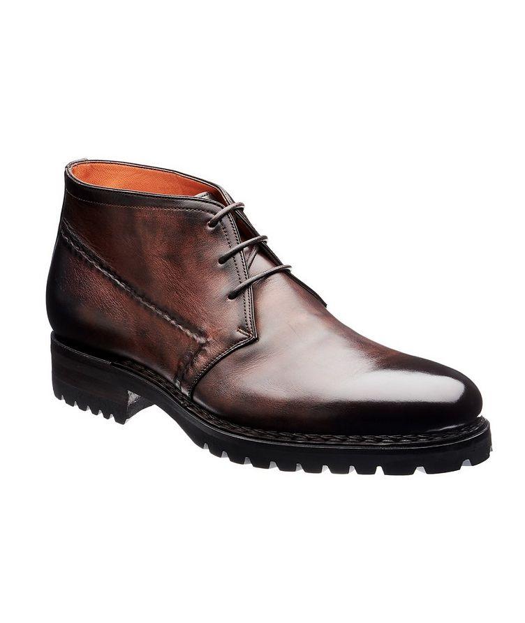 Leather Chukka Boots image 0