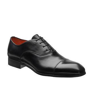 Santoni Chaussure lacée à bout rapporté