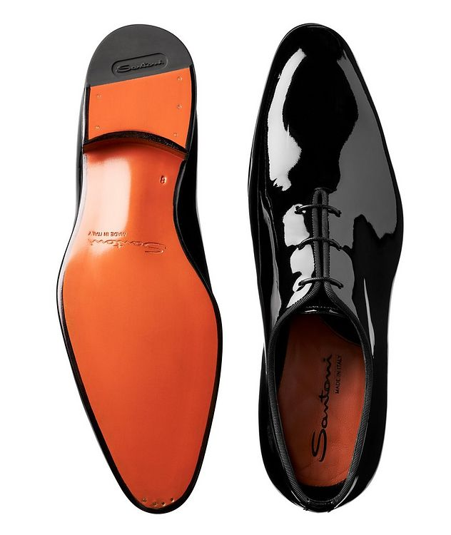 Whole-Cut Patent Leather Oxfords picture 3